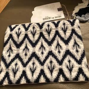 Brand New Ikat Pouch